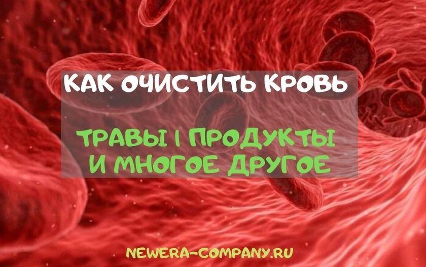 Диета Для Очищения Крови