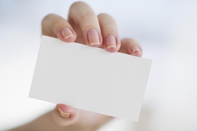 Закажите свои визитные карточки