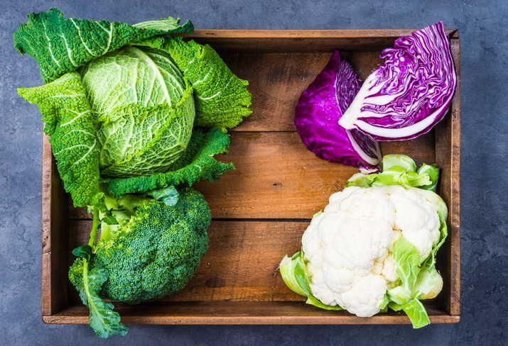 Крестоцветные овощи для печени