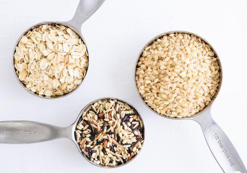 Обработанные зерна