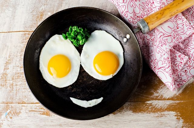 Яйца очень полезны